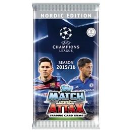 Fotbollskort - Paket Nordic Edition Topps MA - Champions League 2015-16
