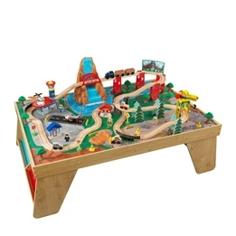 Kidkraft - Tågbana - Natural Waterfall Station Train Set and Table