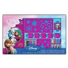 Disney - Frozen/Frost Stämpel- Och Stencil Ritset