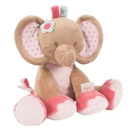 Nattou - Gosedjur - Rose Elefant 33cm