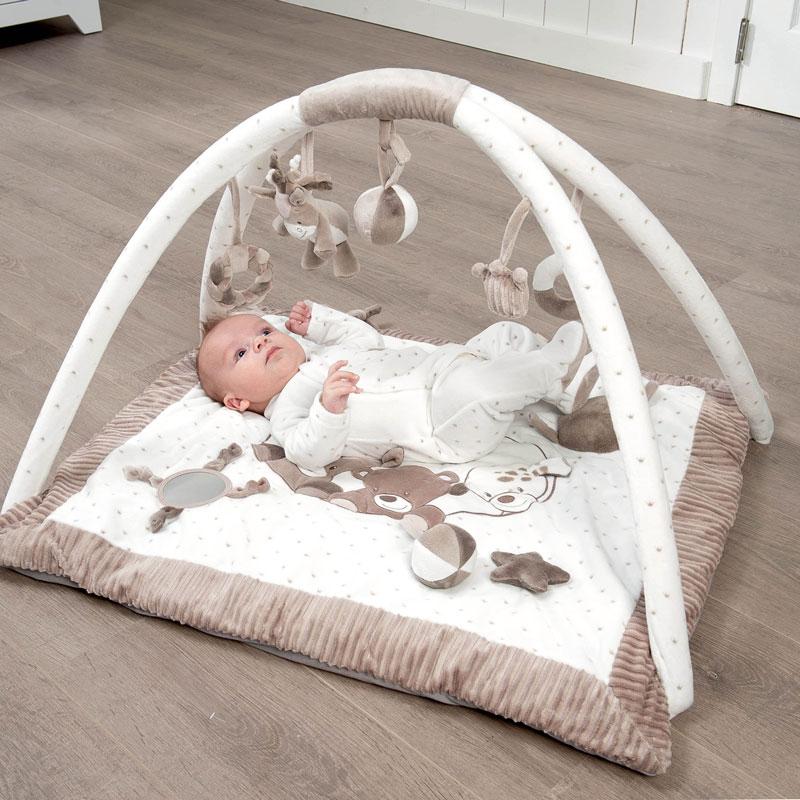 nattou babygym hund h st nalle litenleker. Black Bedroom Furniture Sets. Home Design Ideas