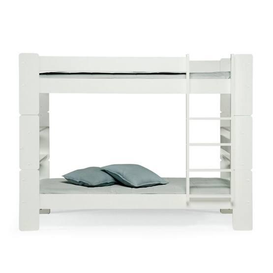 Unipuu - Våningssäng - 90 - Vit