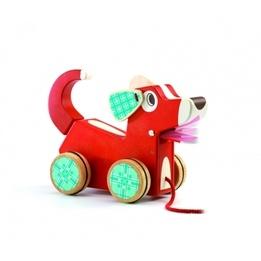 Djeco - Dragleksak - Woofy Dog