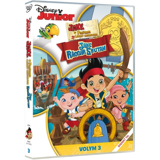 Disney - Jake & Piraterna - Jake Räddar Skutan - DVD
