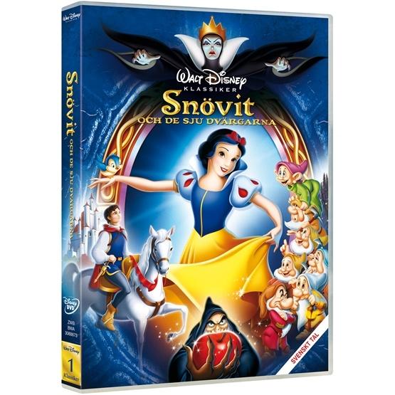 Disney - Snövit Och De Sju Dvärgarna: Diamond Ed. - DVD