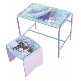 Disney - Frost/Frozen Skrivbord Med Stol
