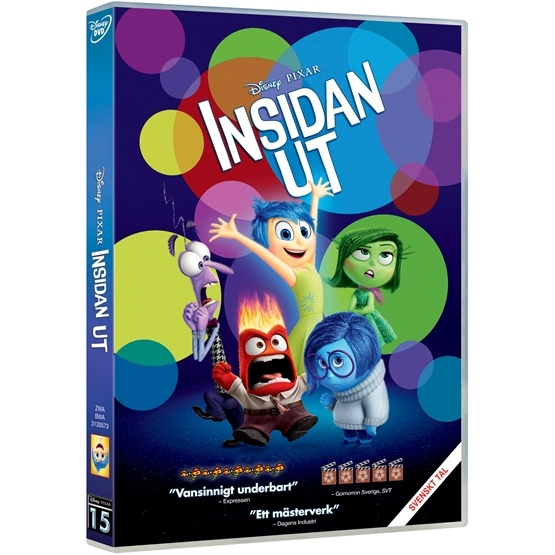 Disney - Insidan Ut - DVD