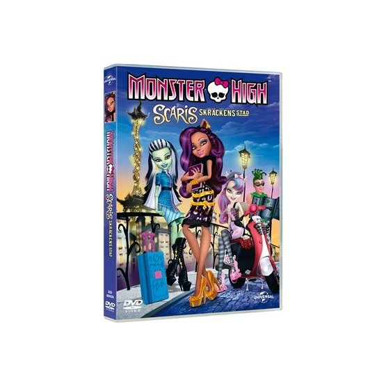 Monster High Scaris - Skräckens Stad - DVD