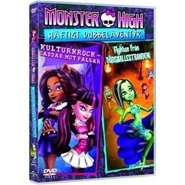 Monster High - Häftigt Dubbeläventyr - Kulturkrock-Gaddar Mot Pälsar & Flykten Från Dödskallestranden - DVD