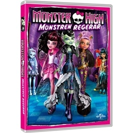 Monster High - Monstren Regerar - DVD