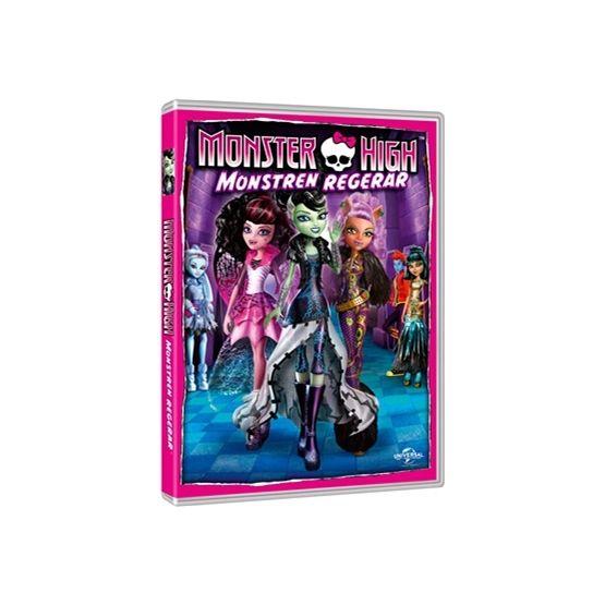 Monster High - Monstren Regerar - DVD