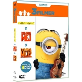 Disney - Minioner Box  (3-Disc) - DVD
