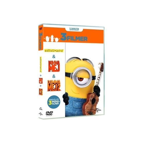 Disney - Minioner Box (3-Disc) - DVD