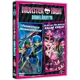 Monster High - Dubbeläventyr - Fasansfulla Fredagskvällen & Är Det Det Här Monster Kallar Kärlek? - DVD