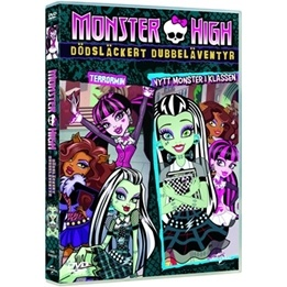 Monster High - Dödsläckert Dubbeläventyr - Nytt Monster I Klassen & Terrormin - DVD