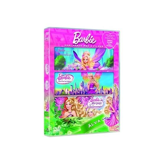 Barbie Box - Fairies Inkl Smycke (3-Disc) - DVD