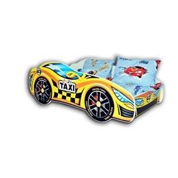 Cool Beds - Barnsäng Med Madrass - Car Taxi