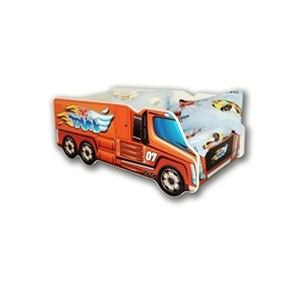 Cool Beds - Barnsäng Med Madrass - Big Truck - 140 x 70 Cm