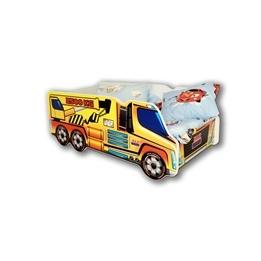 Cool Beds - Barnsäng Med Madrass - Crane Truck - 140 x 70 Cm