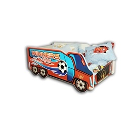 Cool Beds - Barnsäng Med Madrass - Winners Truck - 140 x 70 Cm