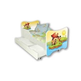 Cool Beds - Barnsäng Med Madrass Och Låda - Elf