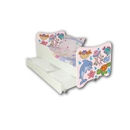 Cool Beds - Barnsäng Med Madrass Och Låda - Fish