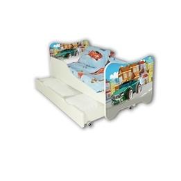 Cool Beds - Barnsäng Med Madrass Och Låda - Super Car