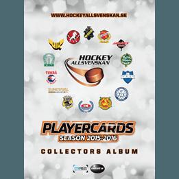 Hockeybilder - Portfoliopärm (A4) 2015-16 HockeyAllsvenskan