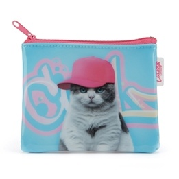 Catseye - Graffiti Cat Coin Purse