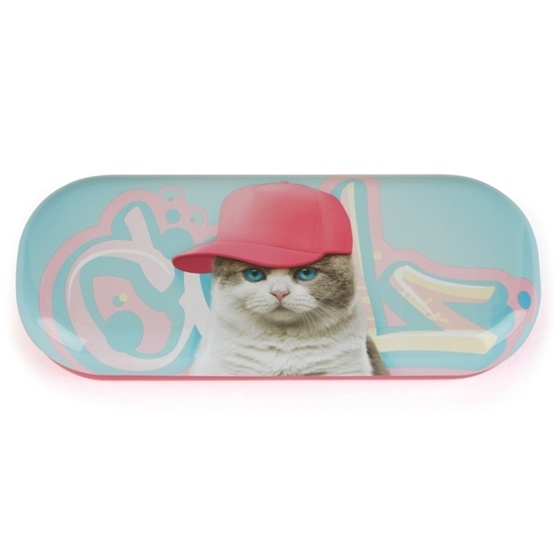 Catseye - Glasögonfodral - Graffiti Cat Glasses Case