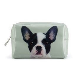 Catseye - Dog On Stone Large Beauty Bag