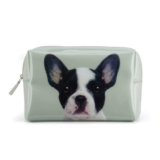 Catseye - Dog On Stone Large Beauty Bag