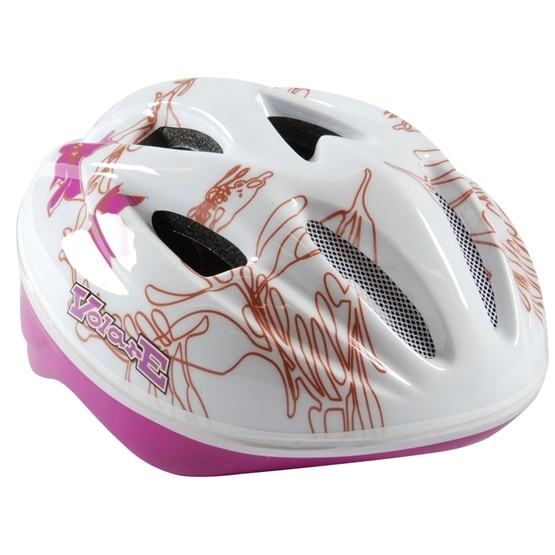 Volare - Fiets/Skate Helm Deluxe - White