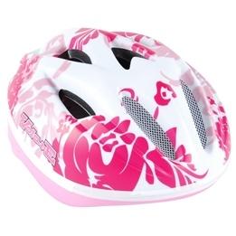 Volare - Fiets/Skate Helm Deluxe - Matt White/Pink