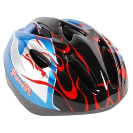 Volare - Fiets/Skate Helm Deluxe - Thombike Blue