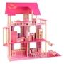 Howa - Dockskåp - Dollhouse Of Wood - Rosa