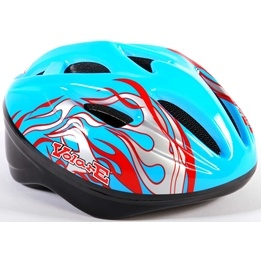 Volare - Fiets/Skate Helm Deluxe - Blue