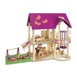 Howa - Dockskåp - Dollhouse Of Wood