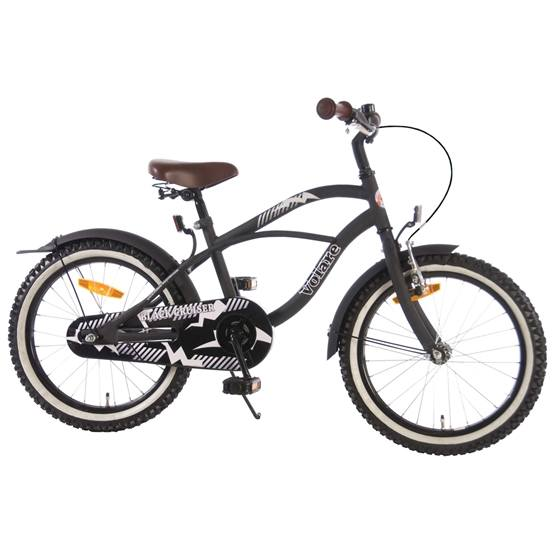 "Volare - Black Cruiser 18"" - Matt Black"
