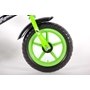 "Yipeeh - Metalen Loopfiets 12"" Eva - Black Green"