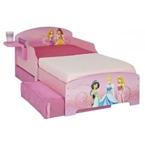Sängar - Disney - Prinsess Barnsäng Junior Med Lådor