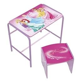 Disney - Disney Princess Skrivbord Med Stol