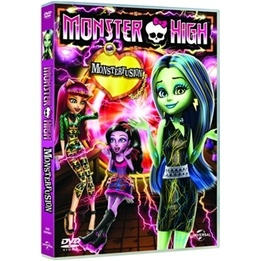 Monster High - Monsterfusion - DVD