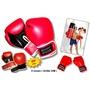Bandito Sport - Boxningshandske - Svart/Röd 8 Uz