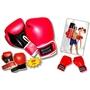 Bandito Sport - Boxningshandske - Svart/Röd 12 Uz