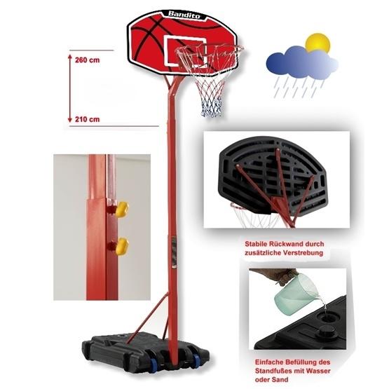 Bandito Sport - Basketkorg - Bandito Junior - Litenleker.se b25c54891bb1f