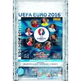 Fotbollskort - 1st Mega Startpaket Nordic Edition Panini Adrenalyn XL Euro 2016