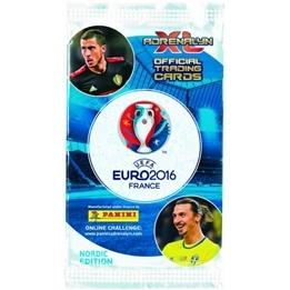 Fotbollskort - 1st Paket (6 kort) Nordic Edition Panini Adrenalyn XL Euro 2016