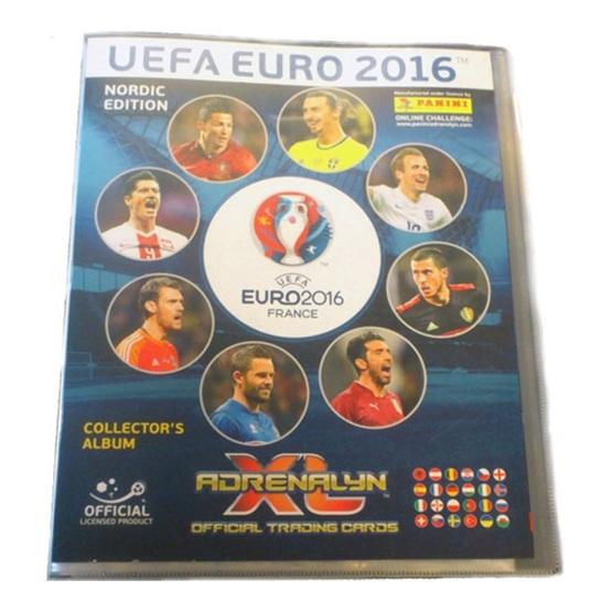 Fotbollsbilder - NEPAE16-binder - 1st Pärm Nordic Edition Panini Adrenalyn XL Euro 2016