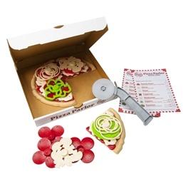 Green Toys - Pizza Set - 27 Delar
